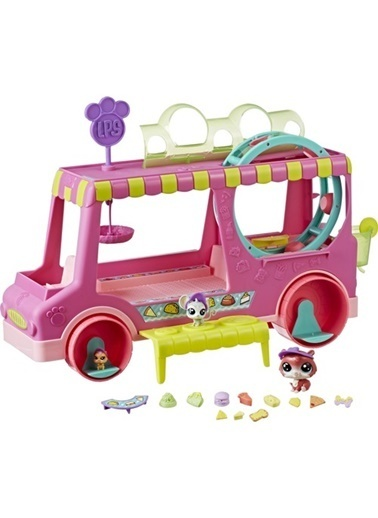 Littlest Pet Shop Littlest Pet Shop Miniş Treats Truck E1840 Renkli